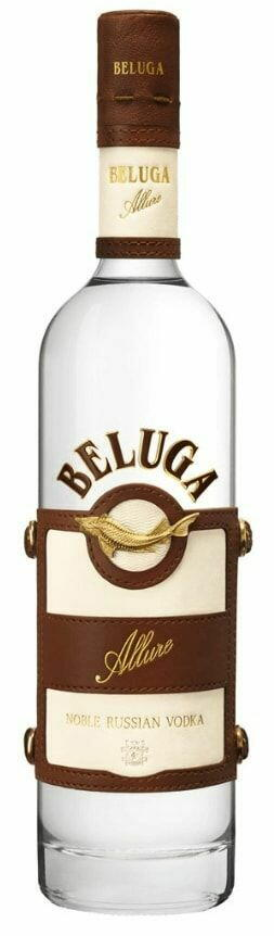 Image of   Beluga Vodka Allure (Leather Giftbox) Fl 70