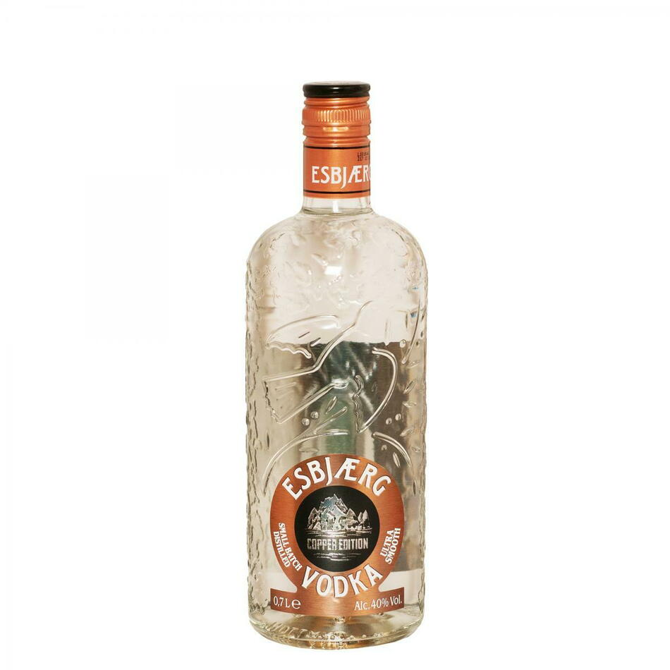 Image of   Esbjærg Vodka, Copper Edition Fl 70