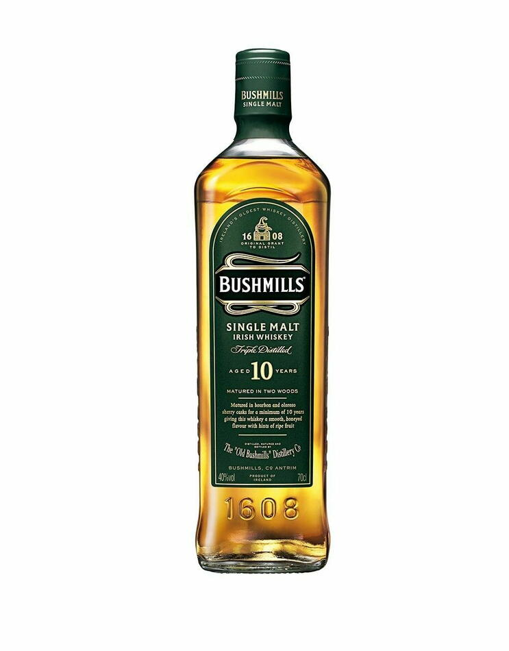 Image of   Bushmills 10 Yo Irish Single Malt Fl 70