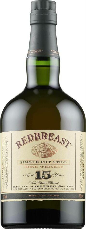 Image of   Red Breast 15 Yo Irish Whiskey Fl 70