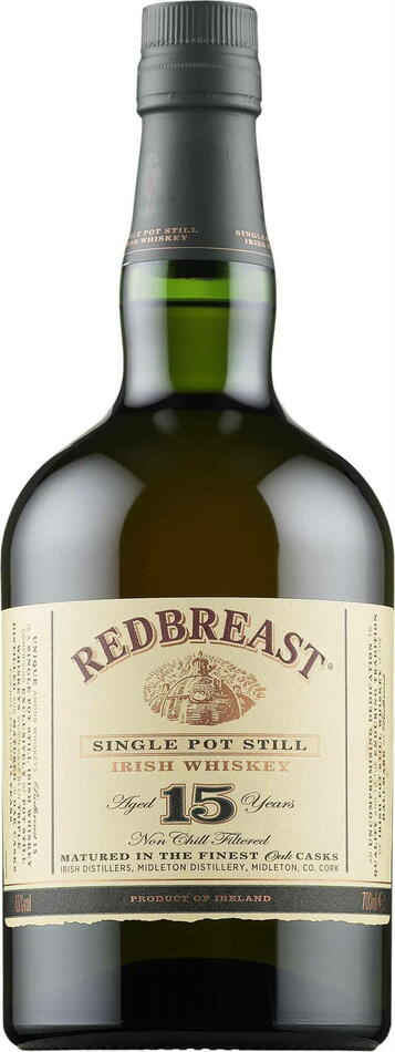 Billede af Red Breast 15 Yo Irish Whiskey Fl 70