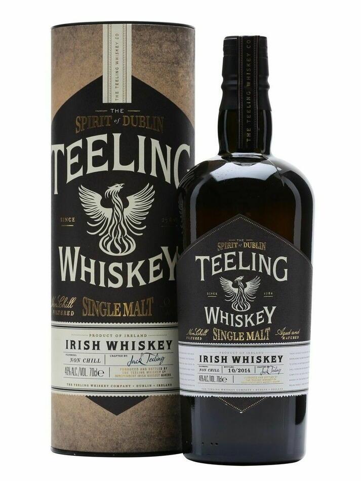 Image of   Teeling Single Malt Irish Whiskey Fl 70
