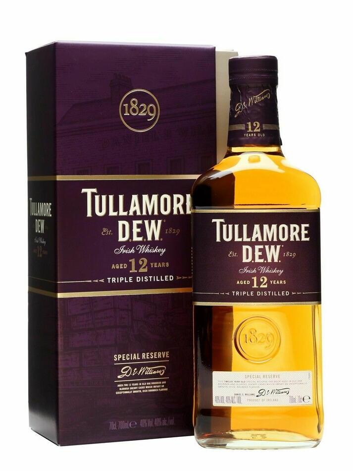 Image of   Tullamore Dew 12 Yo Fl 70