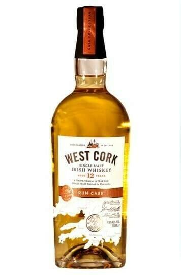 Billede af West Cork 12 Yo Rum Cask Irish Single Malt Fl 70