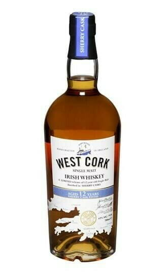 Billede af West Cork 12 Yo Sherry Cask Irish Single Malt Fl 70