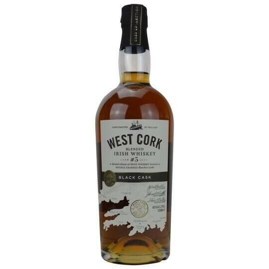 Image of   West Cork Black Cask Irish Whiskey Fl 70