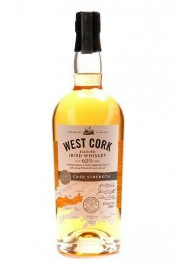 Billede af West Cork Cask Strength Irish Whiskey Fl 70