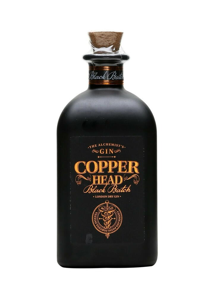 Image of   Copperhead Black Batch Gin Fl 50