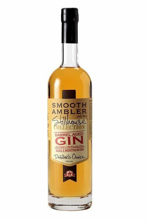 Image of   Smooth Ambler Barrel Aged Gin Fl 70