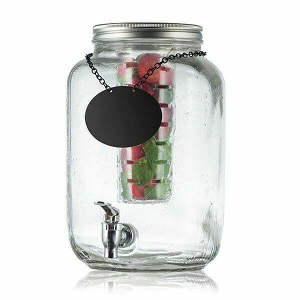 Image of   Mason Jar Glas Dispenser 7.5ltr