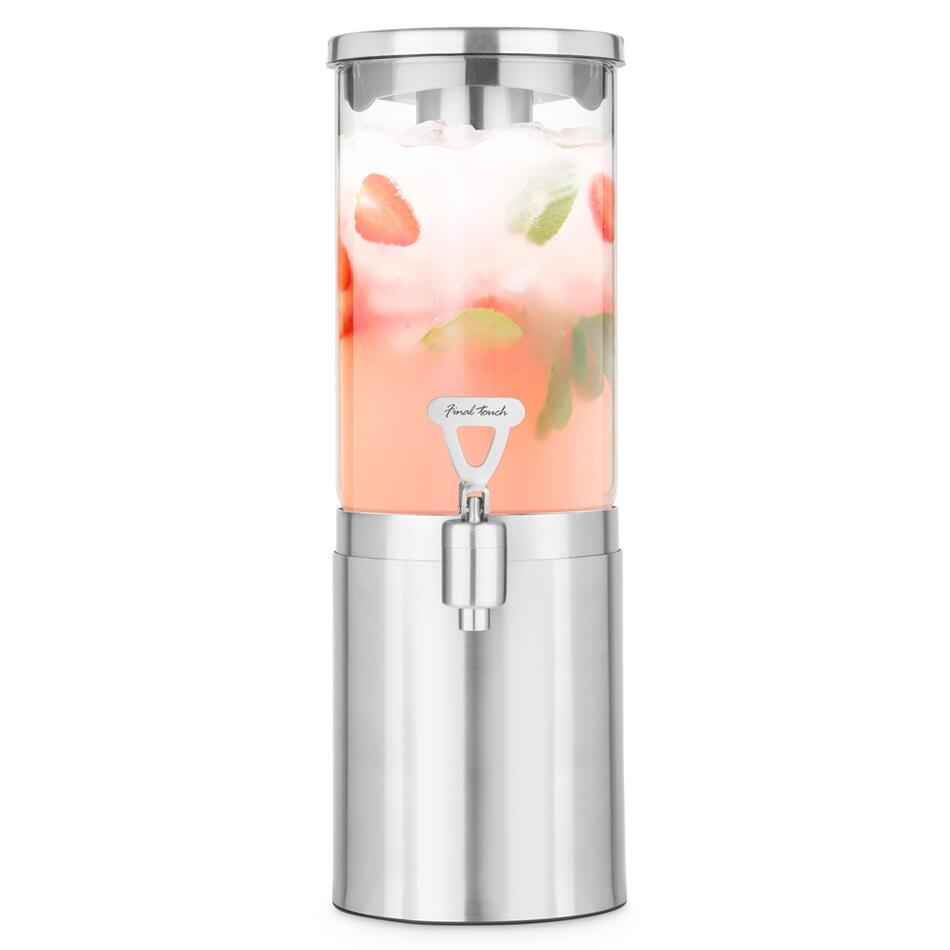 Image of   Final Touch Stål Drinks Dispenser / køler 1,5L
