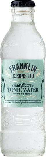 Image of   Franklin & Sons Elderflower Tonic 20 Cl