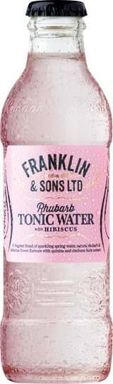 Image of   Franklin & Sons Rhubarb Tonic 20 Cl