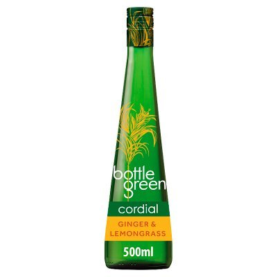Image of   Bottle Green Ginger & Lemongrass Cordial Fl 50