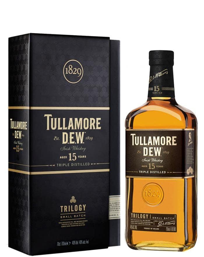 """Image of   Tullamore Dew """"Trilogy"""" 15 Yo Fl 70"""