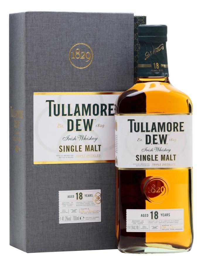 Billede af Tullamore Dew 18 Yo Irish Single Malt Fl 70