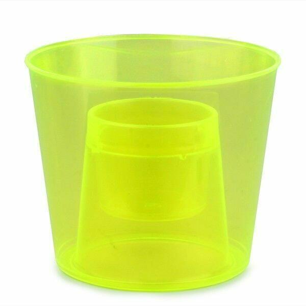 Bomb Cups Neongul 20 Stk.