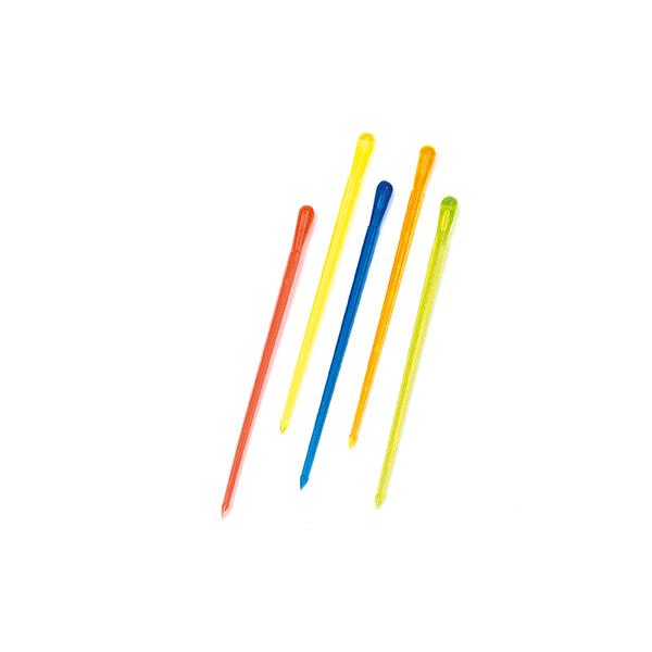 Image of   Pindemadspinde 84 mm. ass. farver 1000 stk.