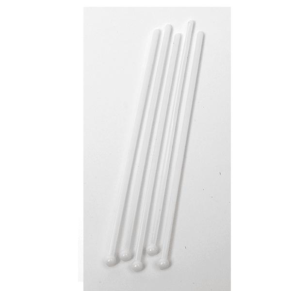 Image of   Drinkspind BULB 15 cm. hvid 500 stk.