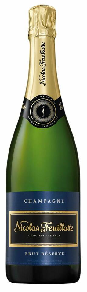 Image of   Feuillatte, Champagne Brut Réserve 0,7 liter5 Ltr