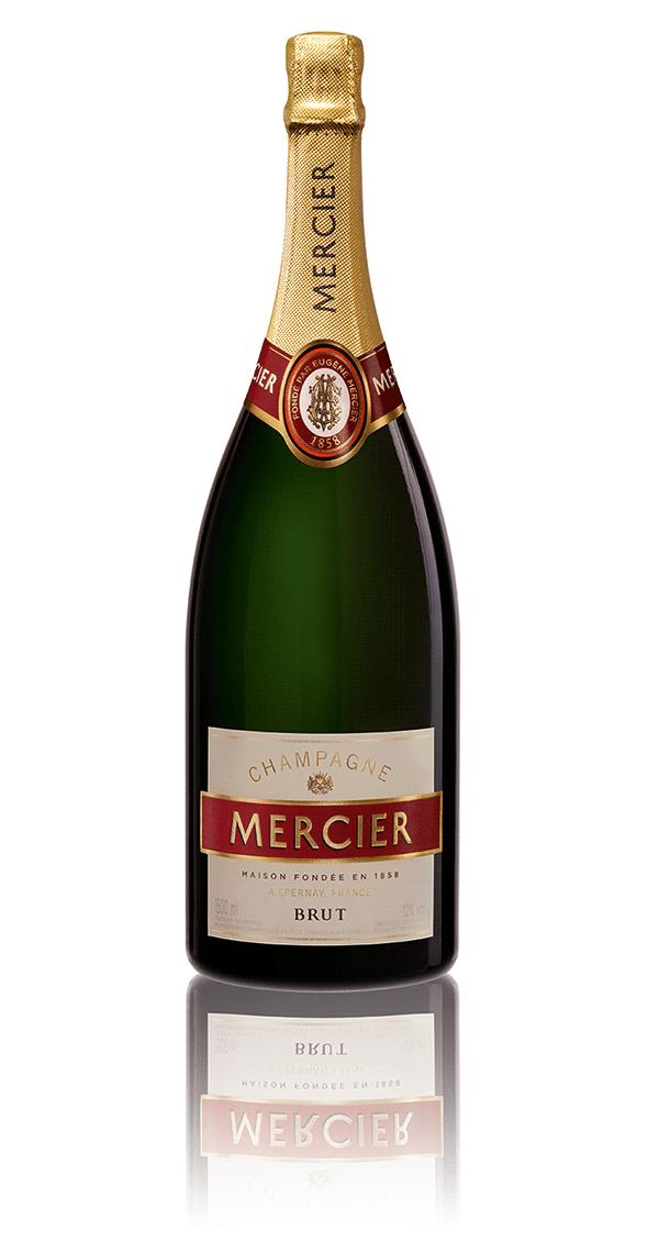 Image of   Mercier Champagne Brut (Mg) 1,5 Ltr