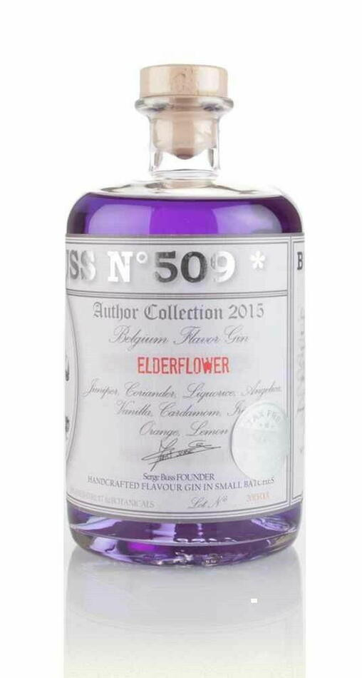 Image of   Buss No. 509 Elderflower Gin Fl 70