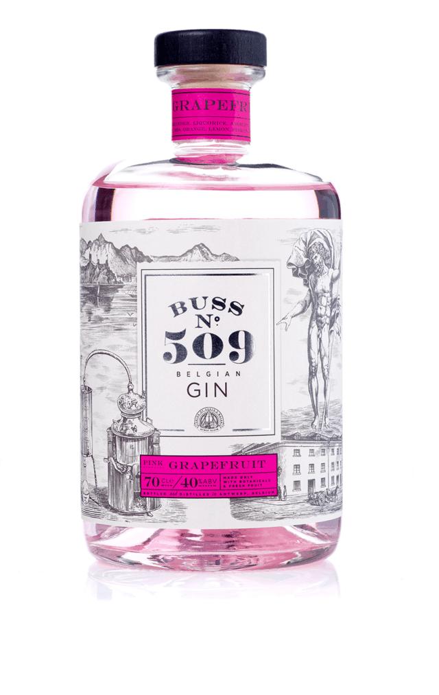 Image of   Buss No. 509 Pink Grapefruit Gin Fl 70