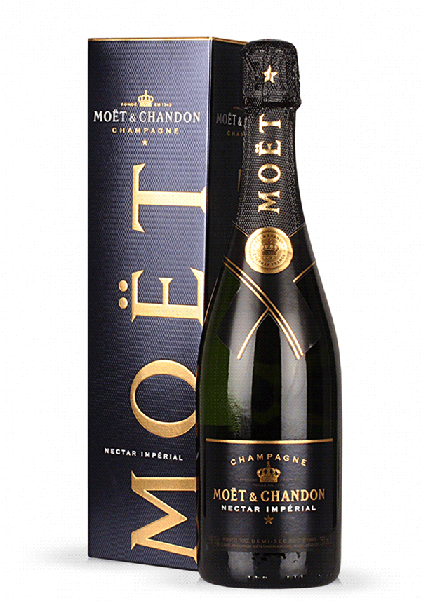 Image of   MoÃ«t & Chandon Champagne Nectar Impérial (Giftbox) 0,7 liter5 Ltr