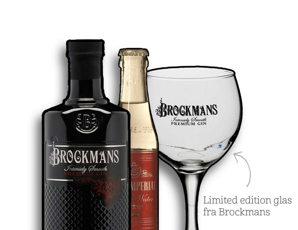 Image of   Brockmans Premium Gin Fl 70