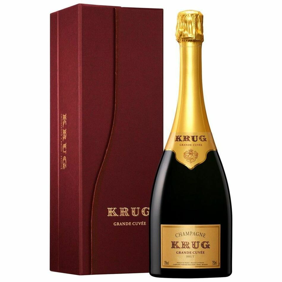 Image of   Krug Champagne Grande Cuvée (Giftbox) 0,7 liter5 Ltr