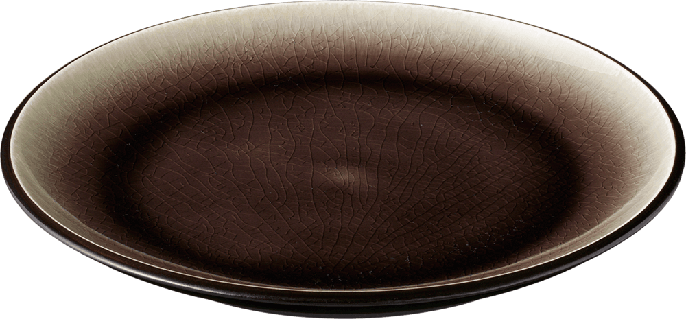 Image of   Cabo tallerken brun 22,8 cm