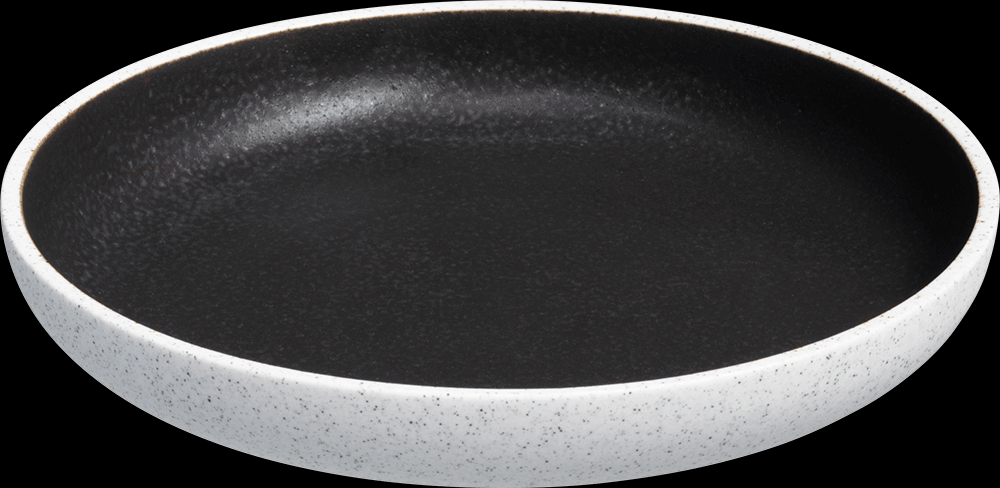 Image of   Salt tallerken uden fane mørkegrå ø20cm