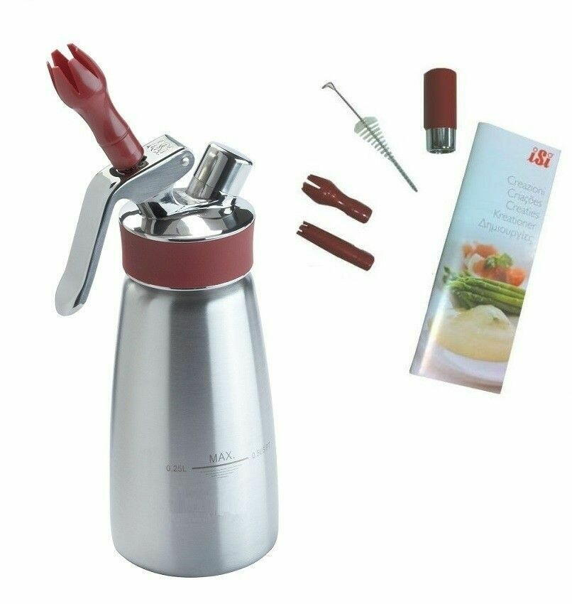 Image of   Sifonflaske Gourmet 0,25L ISI