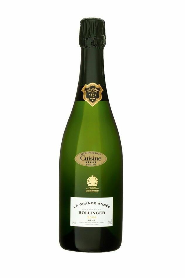 Bollinger Champagne La Grande Annee 2005 Fl 75