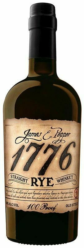 Image of   James E. Pepper 1776 Rye Bourbon Fl 70