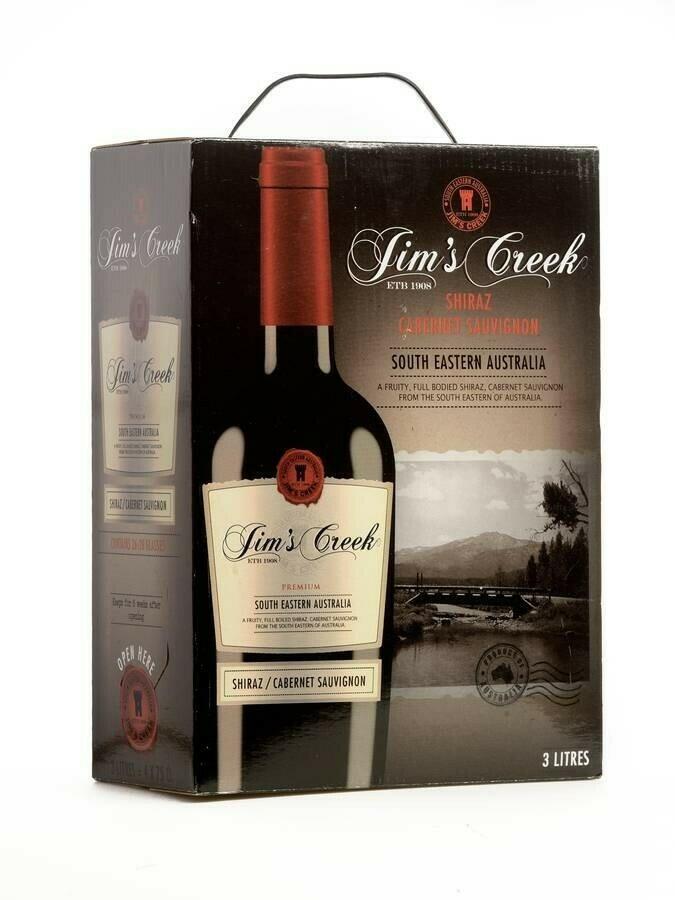 Image of   Jim's Creek Shiraz/cabernet Sauvignon (Bib) Krt 300