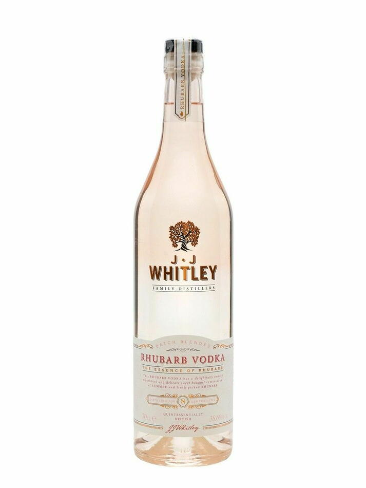 Image of   Jj Whitley Rhubarb Vodka 1 Flaske 70cl