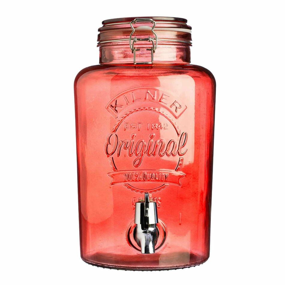 Kilner Garden Drinks Dispenser Rød 5ltr