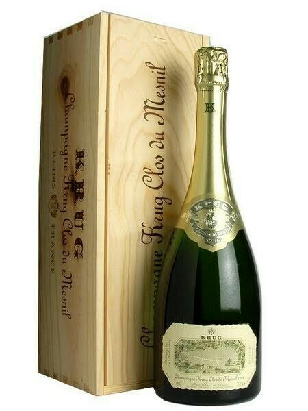 Krug Champagne Clos Du Mesnil 2002 Fl 75