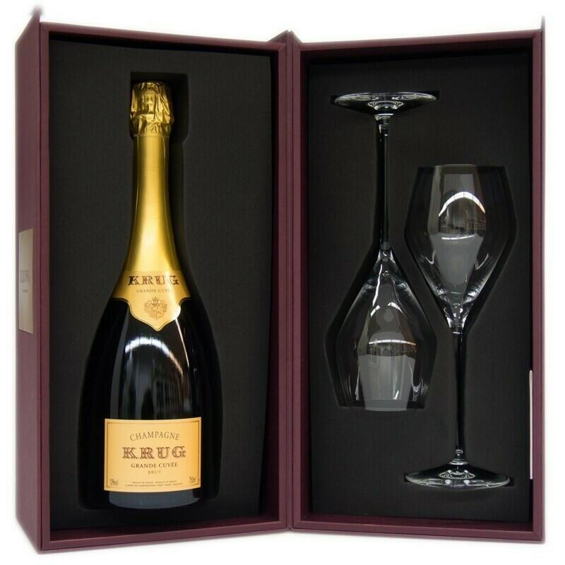 Image of   Krug Champagne Grande Cuvée Gb M/2 Glas Fl 75