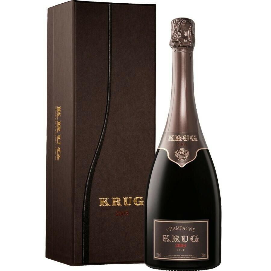 Image of   Krug Champagne Vintage 2003 Fl 75