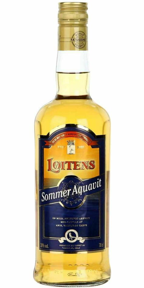 Løitens Sommer Aquavit Fl 70