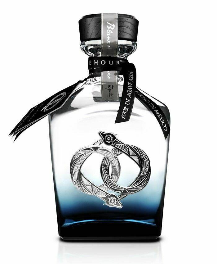 Image of   La Hora Azul Tequila Bco Fl 70
