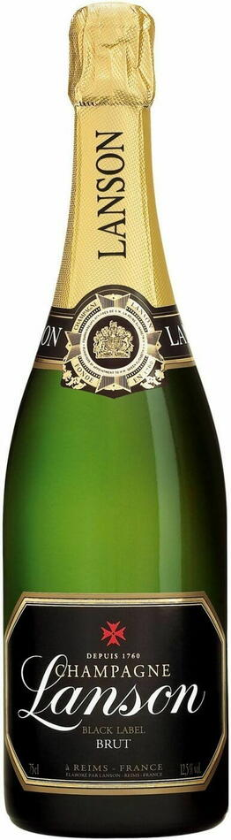 Image of   Lanson Champagne Black Label Fl 75