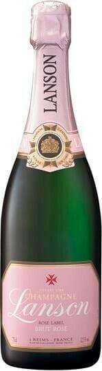 Image of   Lanson Champagne Brut Rosé Fl 75