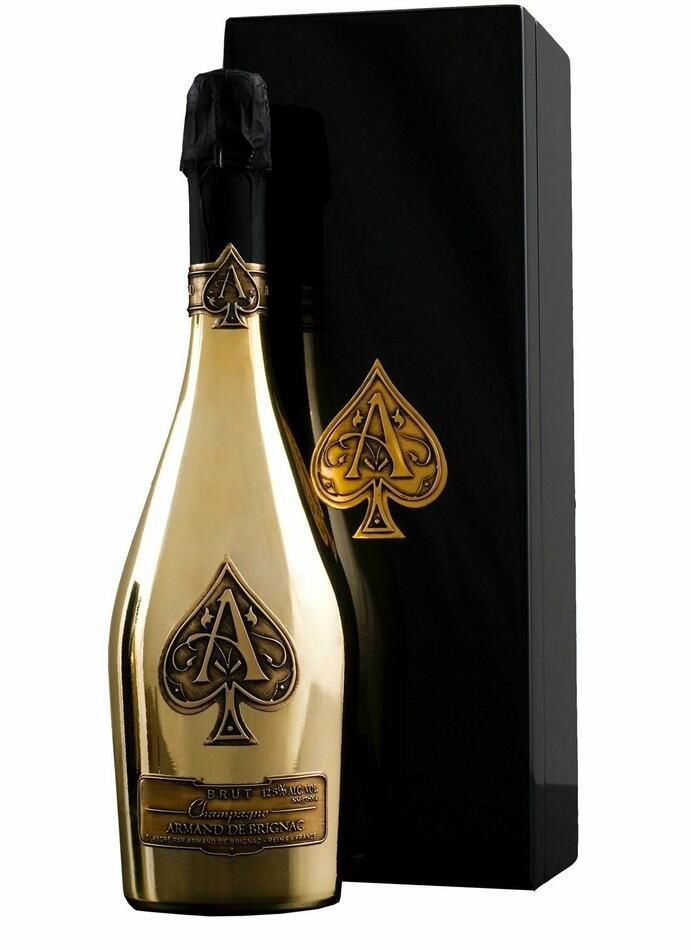 Image of   Armand De Brignac Champagne Brut Gold Fl 75cl
