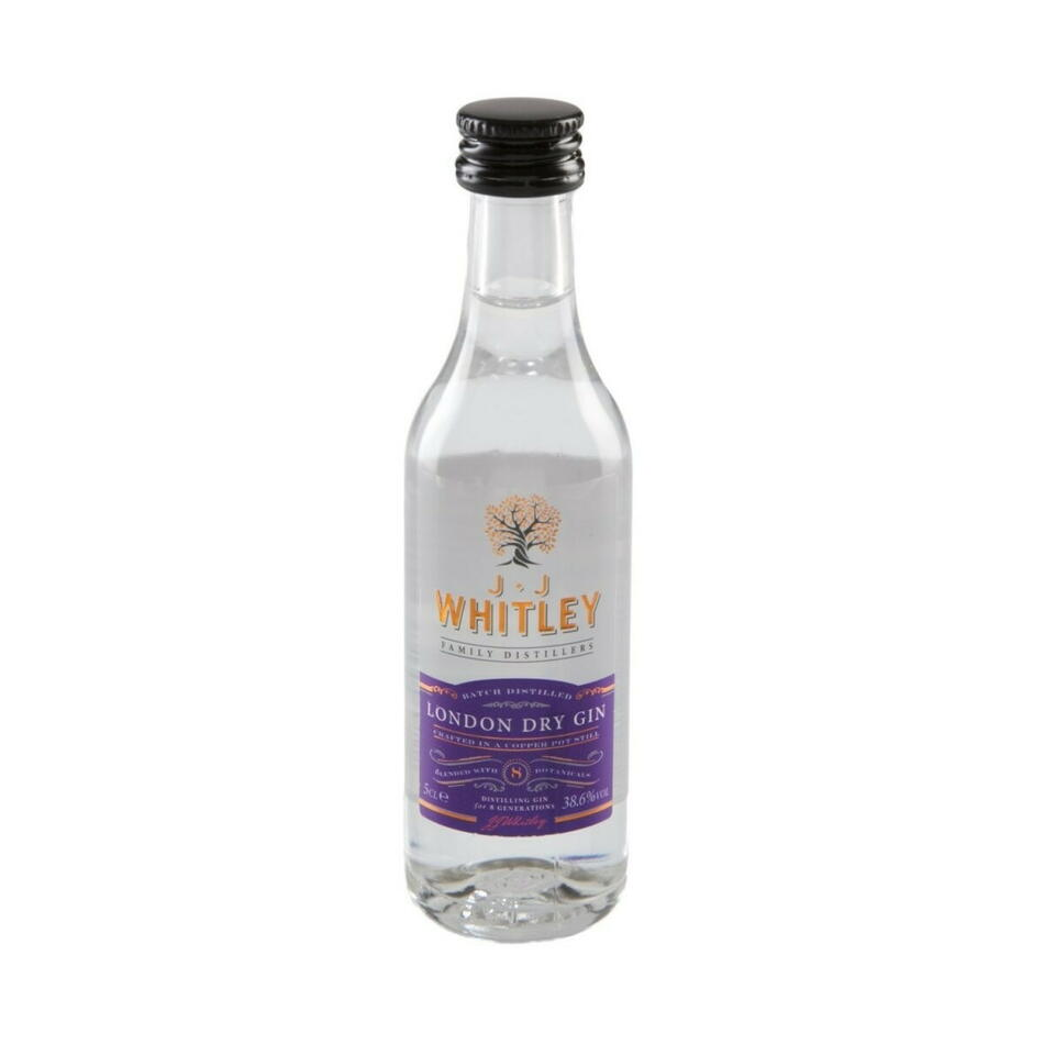 Jj Whitley London Dry Gin 5cl Fl 5