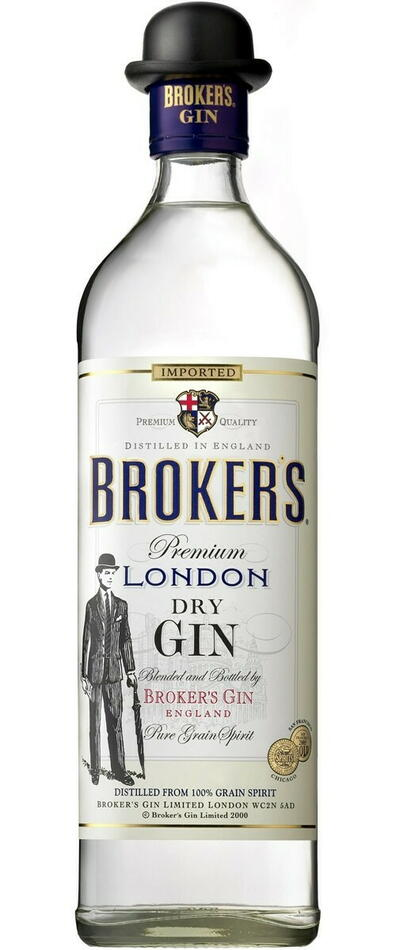 Image of   Broker's London Dry Gin Fl 70