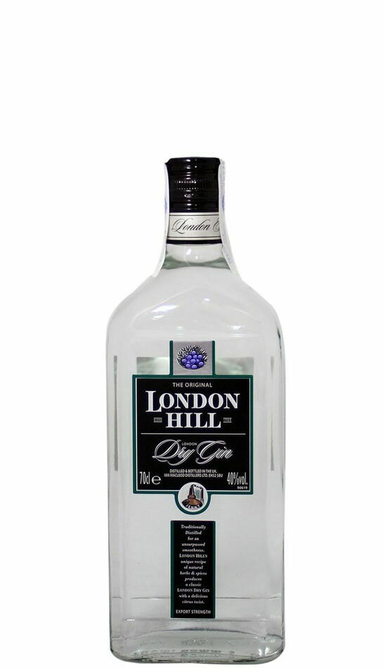 London Hill Dry Gin Fl 70