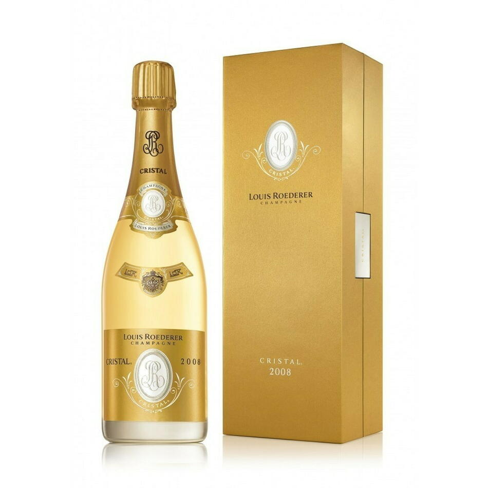 Louis Roederer Champagne Cristal 2008 (Gb) Fl 75